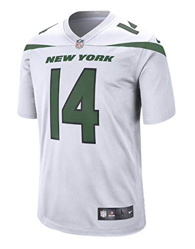 (Nike Men's Sam Darnold NFL New York Jets Game Football Jersey White Size XL )