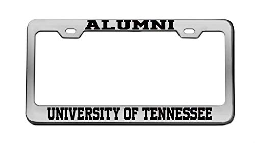 DIY Rine Alumni University of Tennessee University Chrome License Plate Frame Tag