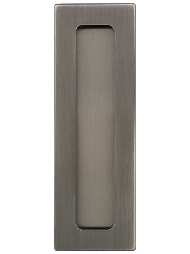 A'dor FP14.620 Hamilton Rectangular Pocket-Door Pull 4 1/2