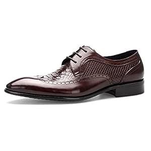 Hope Zapatos de Vestir para Hombres Patrón de cocodrilo ...