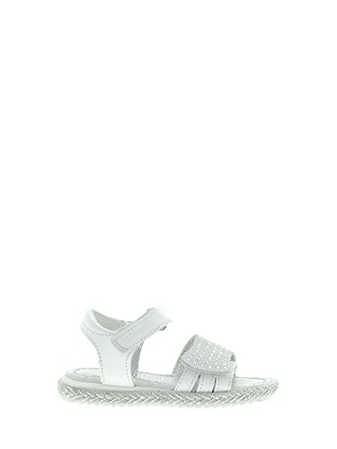 Sandalo White Kid Velcro 1431311 Primigi Hxvfzz