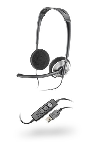 (Plantronics PLNAUDIO478 Stereo USB Headset fOR PC)