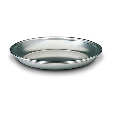 Matfer Bourgeat 532340 Aluminum Seafood Tray, 15 3/4-Inch, Gray