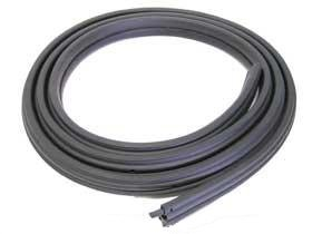 - BMW e36 Sedan Door Seal weatherstrip gasket FRONT L=R new OEM fresh rubber