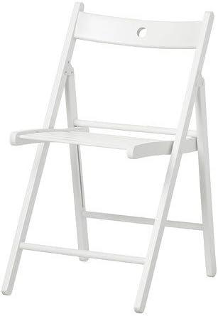 Sedie Pieghevoli Legno Ikea.Ikea Terje Sedia Pieghevole Colore Bianco Amazon It Casa E