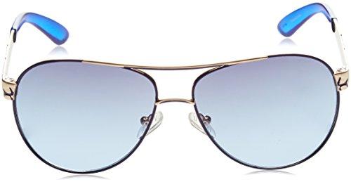 de Mujer 32W 61 Rosa Gafas GUESS Sol GF0282 Blu para Rosa tYCqBwC