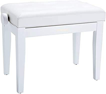 Roland RPB-300WH Piano Bench with Vinyl Seat, Satin White: Amazon.co.uk:  Musical Instruments