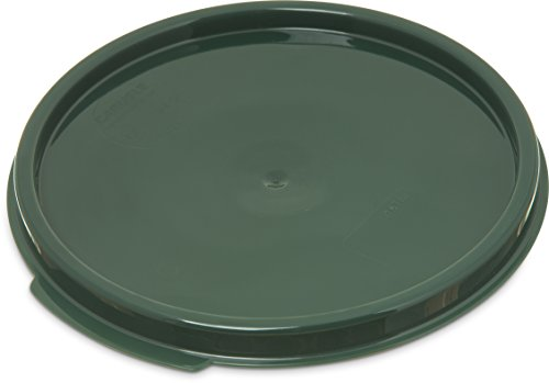 Carlisle 1077108 StorPlus Round Lid, Forest Green, (For 2 to 4-quart Storage Containers)