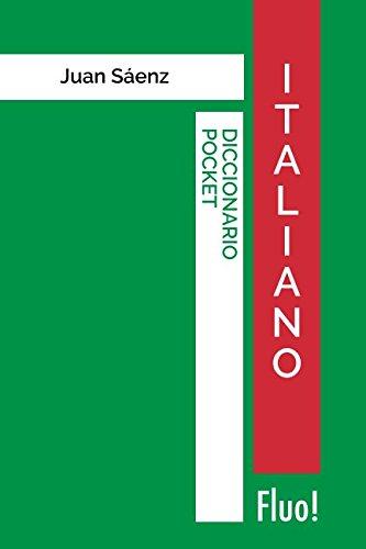 Diccionario Pocket Italiano (Spanish Edition) [Juan Saenz] (Tapa Blanda)