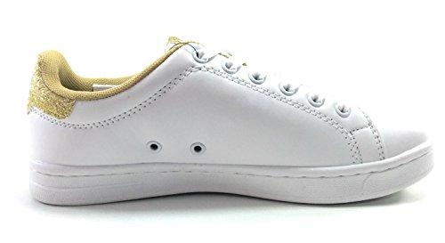 Kappa Zapatillas Niños Palavela Blanco blanco dorado