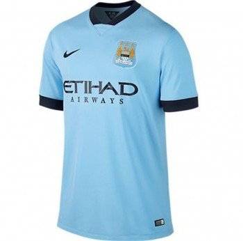 15 Home Jersey - Nike 2014/15 Manchester City SS Home jersey X-Large