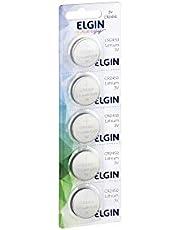 Elgin CR2450 - Bateria de Litio Cartela com 5 Unidades 3V