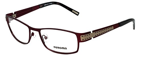 0008b8d437 Renoma Designer Reading Glasses R1026-7215 in Wine 54mm