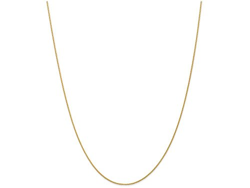 Finejewelers 10 Inch 14k Yellow Gold .95mm Parisian Wheat Chain Ankle Bracelet