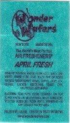 Wonder Wafers 3045 April Fresh Scent Car Truck Air Freshener Wafer - 50 Pack