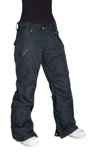 Betty Rides Women's Day Dream Magic Cargo Snowboard/Ski Pants (Black, Medium)