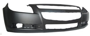 Bumper Chevy Front Cover Malibu - TKY CV04167BB-TY1 Chevy Malibu Primed Black Replacement Front Bumper Cover