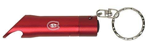 St. Cloud State University - LED Flashlight Bottle Opener Keychain - (Best Husky Key Chain Flashlights)