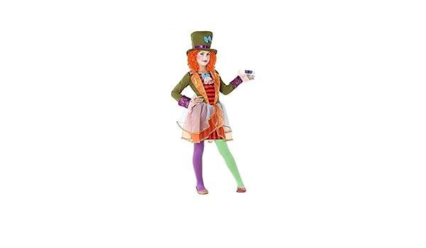 Atosa-61298 Atosa-61298-Disfraz Sombrerera Loca-Infantil Niña, Multicolor, 10 a 12 años (61298: Amazon.es: Juguetes y juegos