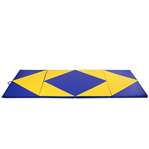 Tapis De Sol Gymnastique Pliable Portable Tapis D Exercice Yoga