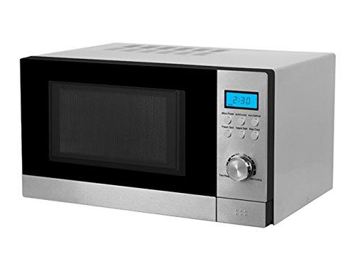 Grunkel - Microondas 23l.grill inox.dig.: Amazon.es: Hogar