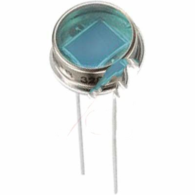Excelitas Technologies Sensors VTB6061BH Silicon photodiode hermetic TO-8 flat window IR blocking blue Wide field of view