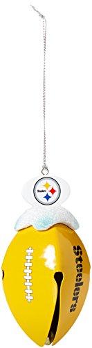 - NFL Pittsburgh Steelers Metal Football Bell Ornament