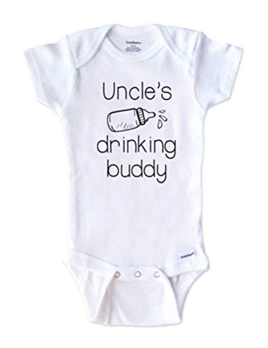Hello Handmade - Funny Baby Onesie Uncle