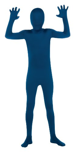 Child's Blue Second Skin Suit, -