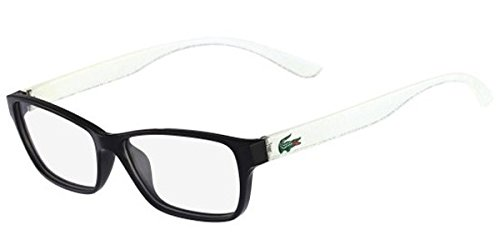 Eyeglasses LACOSTE L 3803 B 002 BLACK WITH STARPHOSPHO TEMPLES