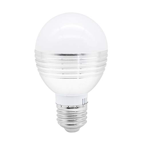 Dusk to Dawn LED Bulb, Daylight White 6000K, 5W (50W Equivalent), 500LM, E26/E27, AC85-265V, Sensor Night Light, Smart Lamp Auto On/Off for Indoor Outdoor Home Porch Stairs Patio Yard Garage by Rowrun Review