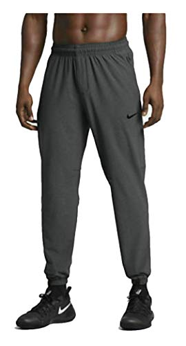 Nike Shield Men's Water and Wind Resistant Athletic Training Pants (Grey/Black, Large)