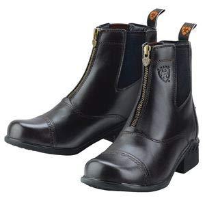 Ariat Ladies' Heritage III Round Toe Zip Paddock Boots- Size 9.5, Black