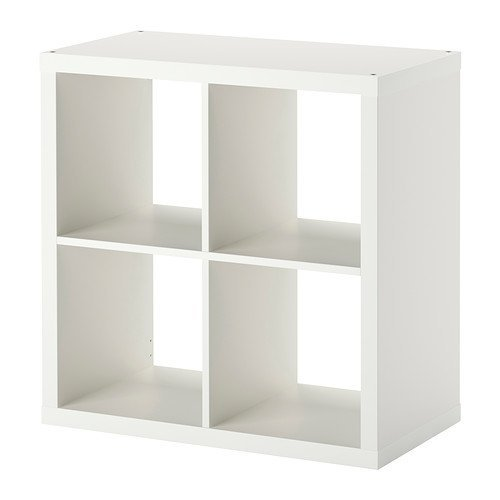 IKEA 202.758.14 KALLAX Shelving Unit, 30 3/8x30 3/8', White