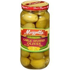 Mezzetta Napa Valley Bistro Stuffed Garlic Olive, 7.5 Ounce -- 6 per (Valley Garlic)