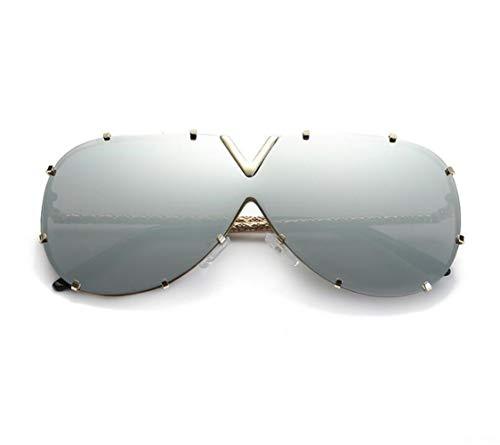 las gafas Mujeres la pesca Guay sol Gafas de sol de la para los UV400 de viajar la libre para moda la de al Huyizhi de conducción protección de aire hombres Golden de zcvgZqnfW