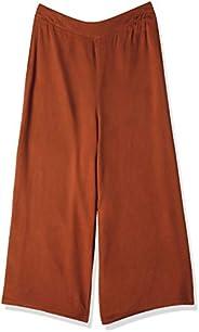 Calça pantacourt de tecido, Mercatto, Feminino