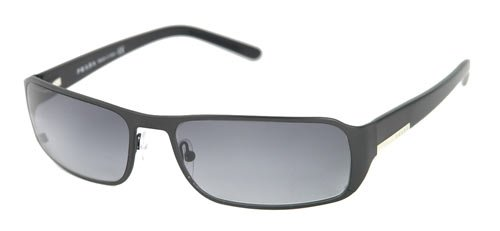 Amazon.com: Prada anteojos de sol spr52 F Color 1BO3 M1 ...