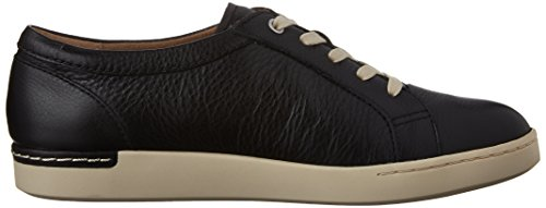 Clarks Cordella Chant zapatilla de deporte Black Leather