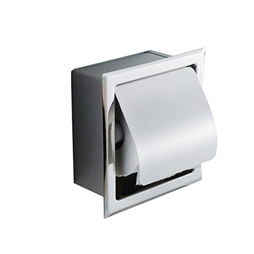 Vinmax Paper Towel Holder Wall Mounted for Home Kitchen - Under Cabinet Bathroom Toilet Tissue Dispenser,Stainless Steel