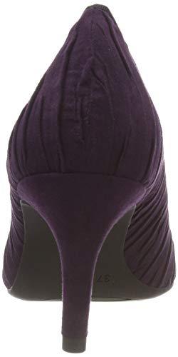 22444 Comb 31 Scarpe 515 Tacco purple Tozzi Donna Viola Con Marco 5R7AwW