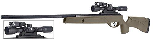Gamo 6110087154 Varmint Hunter HP .177 Caliber Air Rifle with Laser and Light