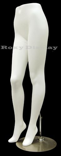 (MD-FL9) ROXY DISPLAY Female Mannequin Legs With beautiful long legs. Fiberglass material. Steel base included.