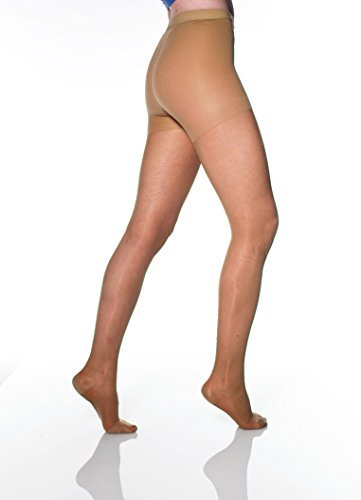 af7f7472e33 Amazon.com  Sheer Firm Support Pantyhose 20-30mmHg - Nude