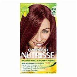 Garnier Nutrisse Couleur de cheveux 452 brun rougeâtre foncé chocolat Cherry - 1 CT (pack de 3)