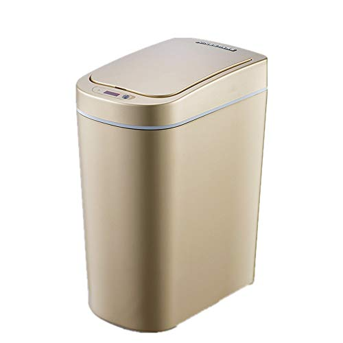 JenLn Container met recycling 7L capaciteit Intelligent Induction Trash Can woonkamer badkamer waterdichte plastic…