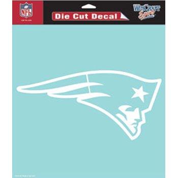 New England Patriots Die-Cut Decal - 8