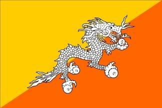 Resultado de imagen para bhutan flag