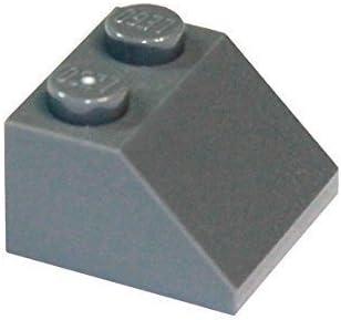 LEGO Parts and Pieces: Dark Bluish Gray (Dark Stone Grey) 2x2 45 Slope x100