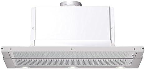 Bosch DHI955F - Campana (700 m³/h, Canalizado/Recirculación, Telescópica o extraplana, Plata, 20 W, 3 bombilla(s)): Amazon.es: Hogar